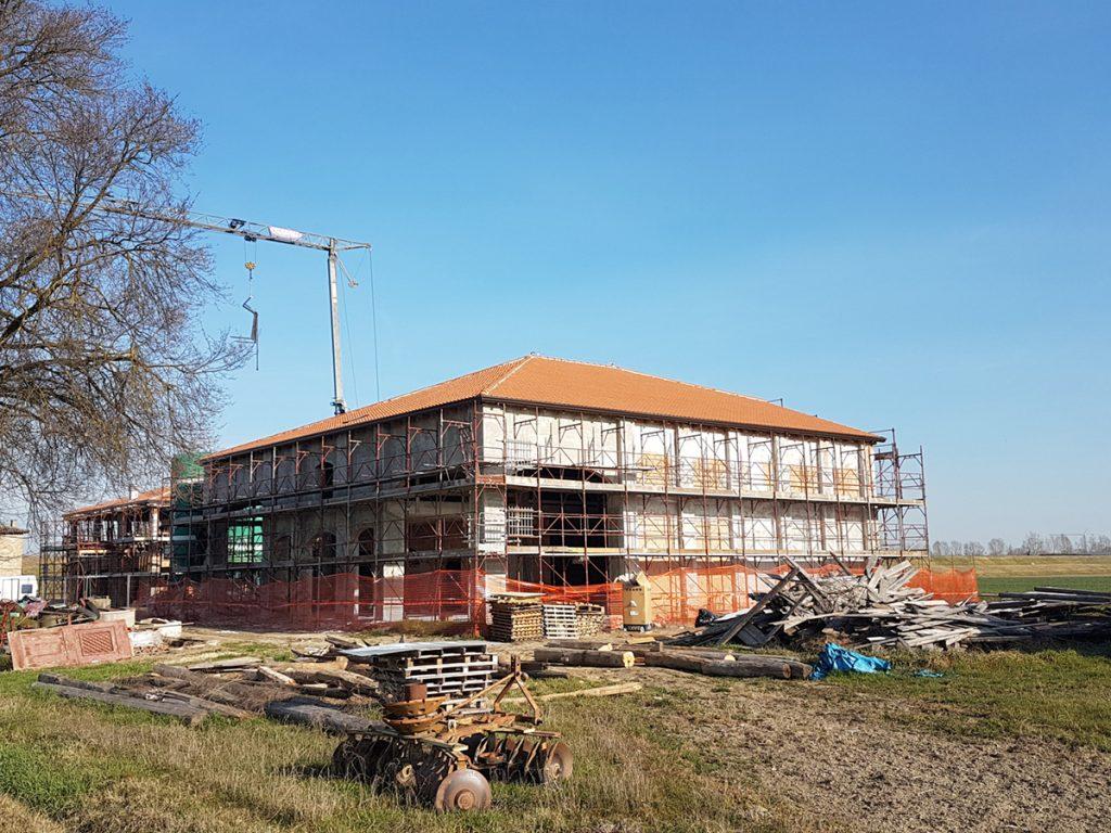 costruzione nuovo fienile 4